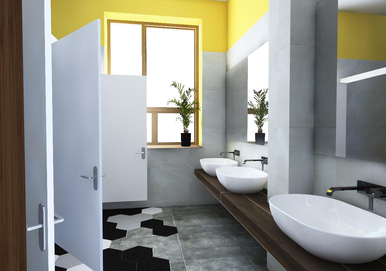 KONKURS – Projekt łazienki do szkoły podstawowej w Radomiu, 2019